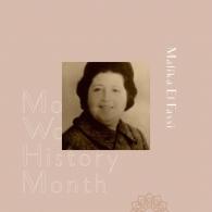 Malika El Fassi est la seule femme du panthéon des 66 marocains signataires du Manifeste de l'Indépendance du Maroc. Née dans une famille lettrée en 1919, El Fassi était journaliste, féministe et une figure du mouvement national.